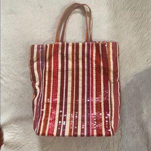 NAF NAF Sequin Tote Bag